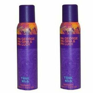 George Gina & Lucy Think Wild Deodorant Spray 6 x 150 ml Neu/OVP