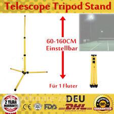 Teleskop Stativ Ständer f/ Baustrahler LED Fluter Strahler Scheinwerfer 60-160cm