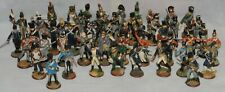 50 PC REGIMENTS OF WATER LOO FRANKLIN MINT PEWTER HAND PAINTED FIGURINES