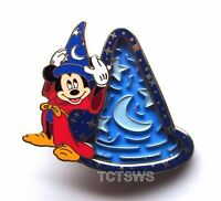 Disney 3D Pin Mickey Mouse Sorcerer Fantasia Hat Maze Ball Game Puzzle Pin 94482