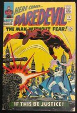DAREDEVIL 1966 #14 SHARP FN--  PLUNDERER,EARLY KA-ZAR APPEARANCE 3 PART STORY