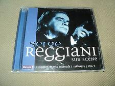 "RARE! CD ""SERGE REGGIANI SUR SCENE 1968-1974, VOLUME 3"""