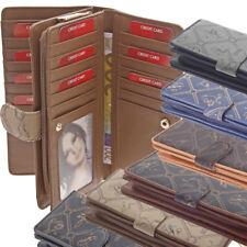 XXL Damen Geldbörse 7 Farben Giulia Pieralli Portemonnaie Frauen Portmonee Luxus