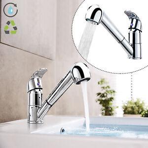 Küchenarmatur Einhand Wasserhahn Spültisch Mischbatterie Ausziehbar Brause Top