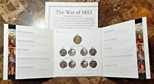 Canada 2012 War of 1812 9 Coin Collector Set New With Map!!