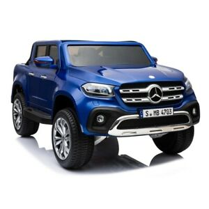 Mercedes-Benz X-Class Ute, 4x4 4WD Electric Ride On Toy - Blue