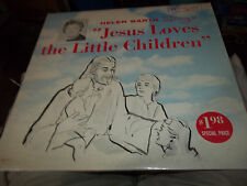 HELEN BARTH SINGS JESUS LOVES THE LITTLE CHILDREN RECORD ALBUM LP ON GRACE NOTE