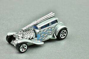 Hot Wheels Car 2007 New Models Silver Straight Pipes