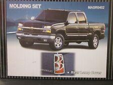 For Chevy SILVERADO CHROME Tail Light Cover Set 2003-2006 Chevrolet GMC 03-06