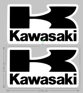 Kawasaki Logo Racing stickers decals - MX - MOTO GP