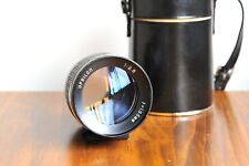 UPSILON 135mm f/2.8 for Pentax M42 screw mount  w/ leather Case  - Made in Japan