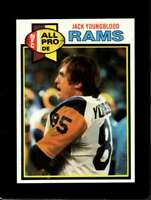 1979 TOPPS #180 JACK YOUNGBLOOD NMMT LA RAMS HOF NICELY CENTERED  *XR15457