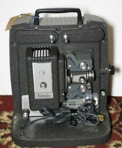 VINTAGE Keystone K-919 Movie Projector with Inspection Tag