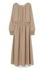 H&M polka dot dress With Gathering Used Size Extra Large
