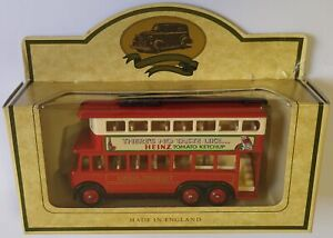 Lledo Promotional Model Trolley Bus Heinz Tomato Ketchup Diecast