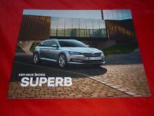 SKODA Superb III Typ 3V Limousine Combi Active - Laurin & Klement Prospekt 2019