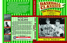 1957 World Series Braves vs Yankees Game 2 Complete-Game TV broadcast now on DVD