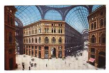 Galleria Umberto - Napoli Photo Postcard c1920s / Naples