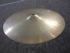 "Vintage Zildjian Hollow Logo 16"" Ride Cymbal  Made in the USA!"