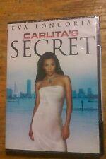 CARLITAS SECRET DVD ORIGINAL NEW RETAIL EVA LONGORIA Rare Oop Free Shipping