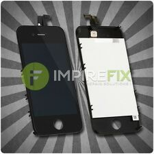 Original iPhone 4 Retina LCD + Touchscreen Display Glas Front SET Schwarz Black