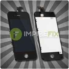 Original iPhone 4 Retina LCD + Touchscreen Display Glas Front SET Schwarz Black