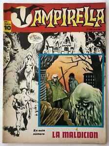 VAMPIRELLA N° 10 HORROR ARGENTINA EDITORIAL MAZZONE 1972