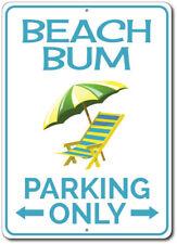 Beach Bum Parking Sign, Beach Bum Gift, Gift for Beach Bum ENSA1002503