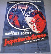 Affiche de cinéma : INSPECTEUR DE SERVICE de JOHN FORD