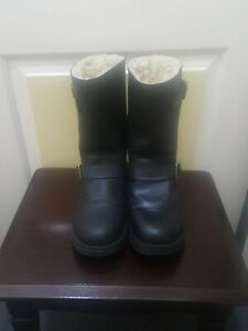 Ladies, UGG Biker Boot. Size 8. Colour Black.