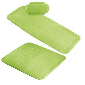 Grüne Duscheinlage Wanneneinlage Duschmatte Wannenmatte AROSA - KLEINE WOLKE