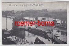 75497 Ak Überschwemmungsgebiet Les Ecluses 1916