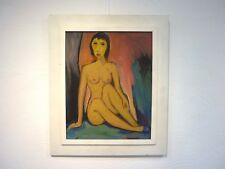 Gemälde OTTO KLOCKE Akt um 1970 Expressionismus