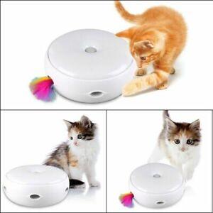 Elektrisch Katzenspielzeug Turntable Intelligenzspielzeug Haustier Spielzeug Toy