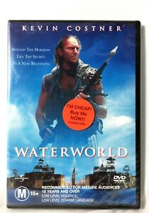 Waterworld - Kevin Costner New and Sealed DVD Movie M15+ Free Deliver In Oz!
