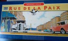 """JEU DE SOCIETE """" RUE DE LA PAIX """" PARKER 1985 COMPLET EN BOITE- TBE"""