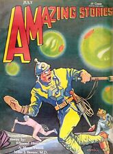 Amazing Stories 373 Back Issues On DVD  PDF Format Classic Science Fiction (PIC)