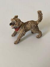 Schleich Mongrel Mutt Dog Puppy Action Figure Very Rare Retired