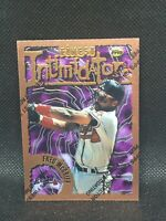 1995 Topps Finest Intimidator FRED MCGRIFF braves Mint
