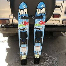 """New listing HO SKIS Hotshot Trainers Youth Child 46"""" Combo Waterskis Skis Training Bar"""