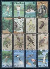 JAMAICA 465-81 SG461-76 Used 1979-80 Defin set of 16 Cat$20