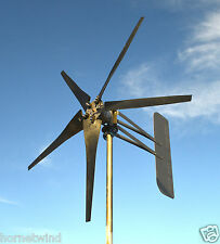 KT5 Roller Wind Turbine LOW SC 5 Blade 1685W 24 volt AC 3 wire 14 magnet 6.3 kWh