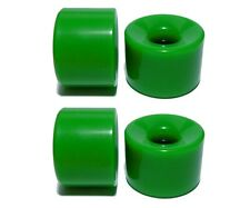 Blank Longboard Wheels, 76mm (78a) Cruiser Rollen, Green