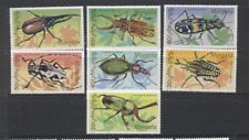 Mongolia 1991 Insects/Beetles 7v set (n12164)
