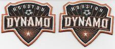 2 Houston Dynamo Football Club Soccer Patch/Badge/Crest Iron/SewOn