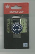 Penn State Nittany Lions Metal Money Clip PSU Logo Team Colors NCAA New