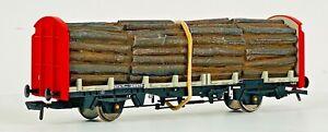 BACHMANN 00 GAUGE - 38-300 - OTA TIMBER CARRIER WAGON RAILFREIGHT W/LOAD - UB