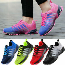 New listing Women Running Shoes Walking Trainers Tennis Gym Fitness Outdoor Cycling Jogging