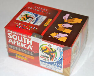 Panini Wc World Cup 2010 South Africa – Display Box 100 Bags Packets Ed. America
