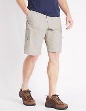 M&S Collection Stormwear Active Waist Stone Shorts W46 117cm